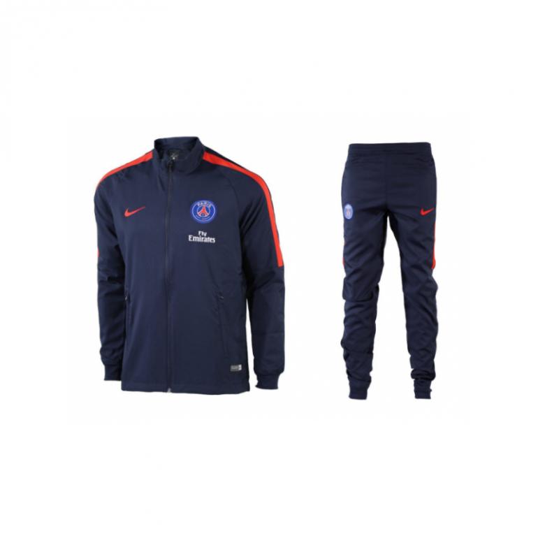 Survêtement PSG Squad bleu 2016 - 2017