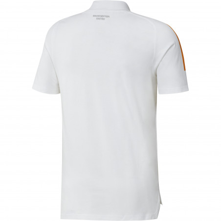 T-shirt Manchester United blanc orange 2020/21