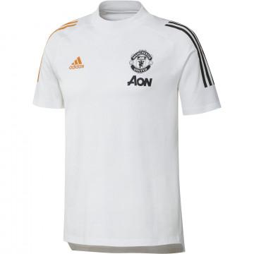 T-shirt Manchester United blanc orange 2020/21