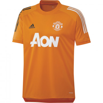 Maillot entraînement Manchester United orange 2020/21