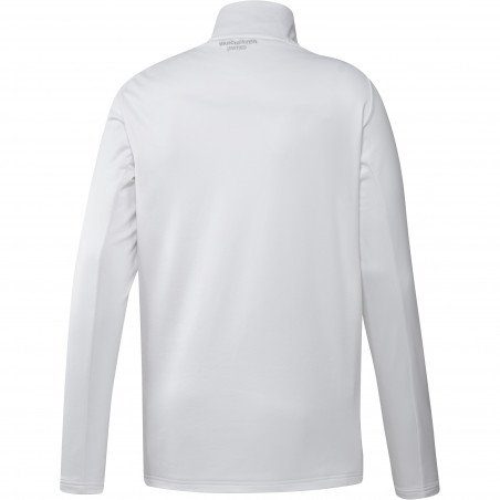 Sweat col montant Manchester United blanc 2020/21