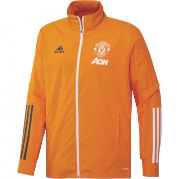 Veste entraînement Manchester United orange 2020/21