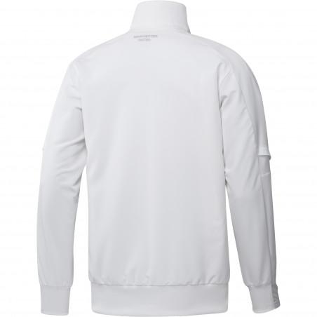Veste entraînement Manchester United blanc orange 2020/21