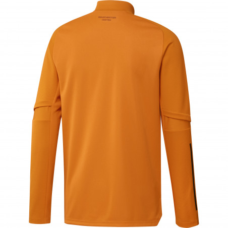 Sweat zippé Manchester United orange 2020/21