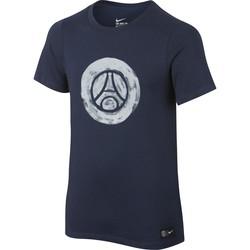T-Shirt PSG Junior Crest bleu