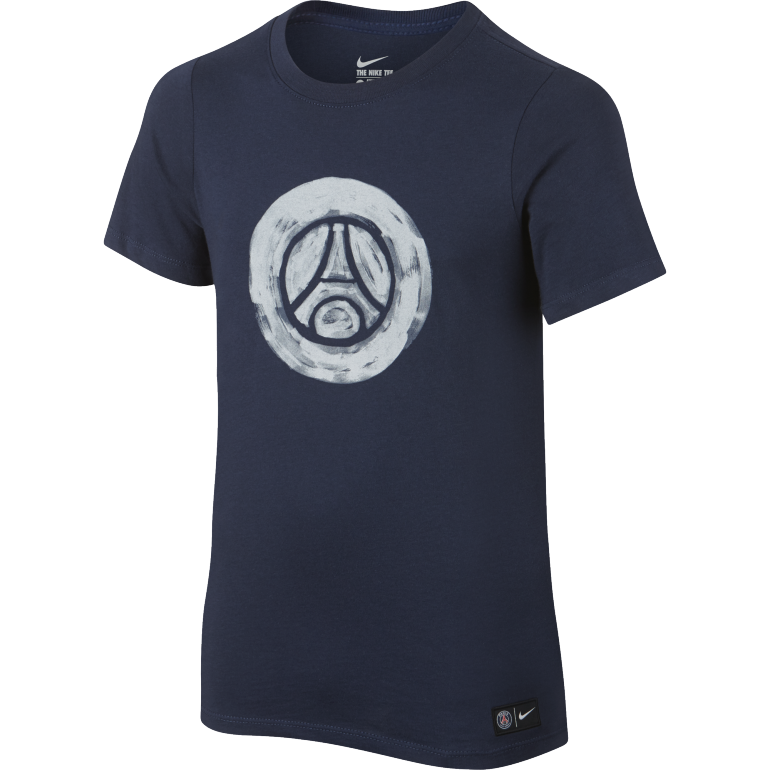 T-Shirt PSG Junior Crest bleu