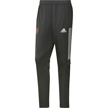 Pantalon survêtement Manchester United vert orange 2020/21
