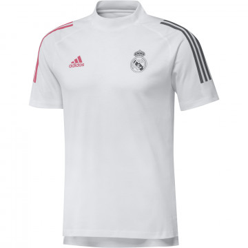 T-shirt Real Madrid blanc rose 2020/21