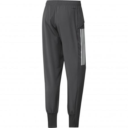 Pantalon entraînement Real Madrid gris rose 2020/21