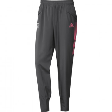 Pantalon entraînement Real Madrid gris rose 2020/21