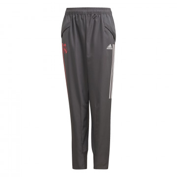 Pantalon entraînement junior Real Madrid gris rose 2020/21