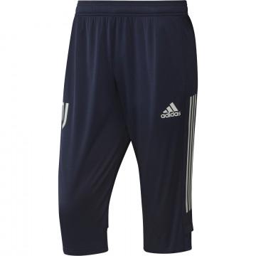 Pantalon survêtement Juventus 3/4 bleu 2020/21