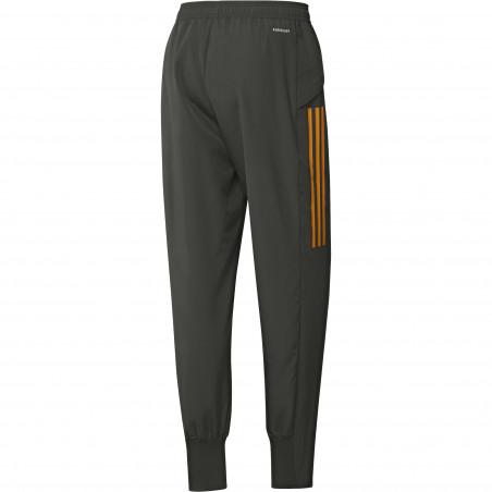 Pantalon entraînement Manchester United vert orange 2020/21
