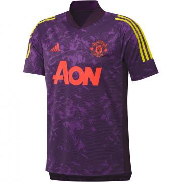 Maillot entraînement Manchester United Europe violet 2020/21