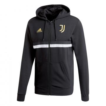Veste survêtement Juventus 3S FZ noir or 2020/21