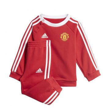 Ensemble survêtement bébé Manchester United rouge 2020/21