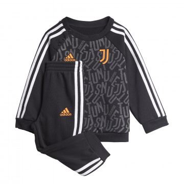 Ensemble survêtement bébé Juventus gris orange 2020/21