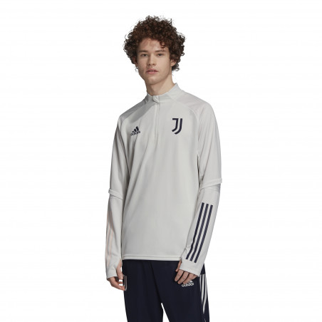 Sweat zippé Juventus blanc 2020/21