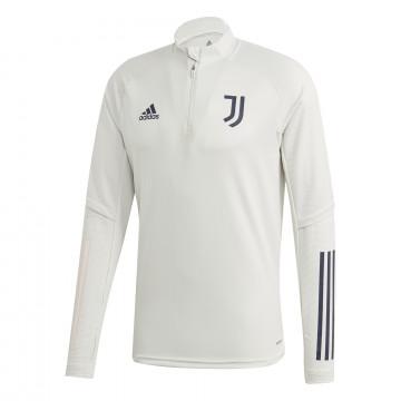 Sweat zippé Juventus blanc 2020/21
