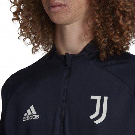 Sweat zippé Juventus bleu foncé 2020/21