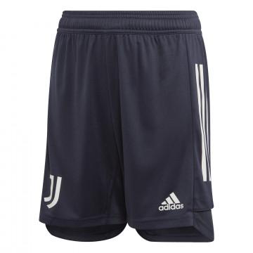 Short entraînement junior Juventus bleu 2020/21