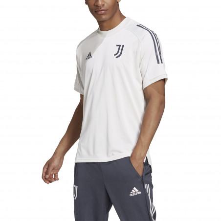 Maillot entraînement Juventus blanc bleu 2020/21