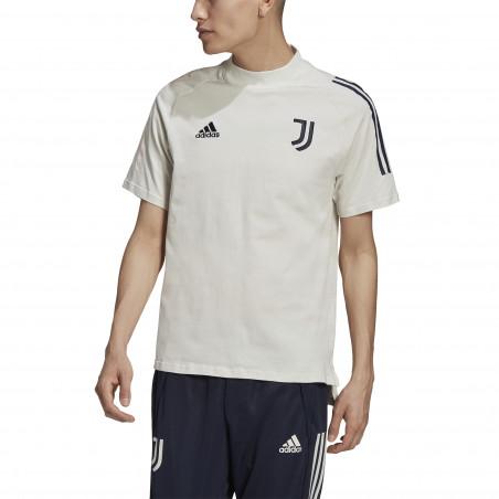 T-shirt Juventus blanc 2020/21