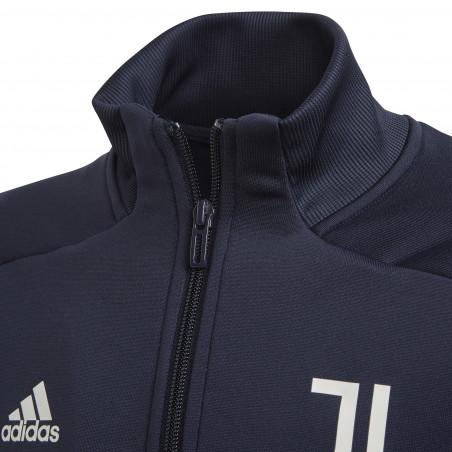 Ensemble survêtement junior Juventus bleu foncé 2020/21