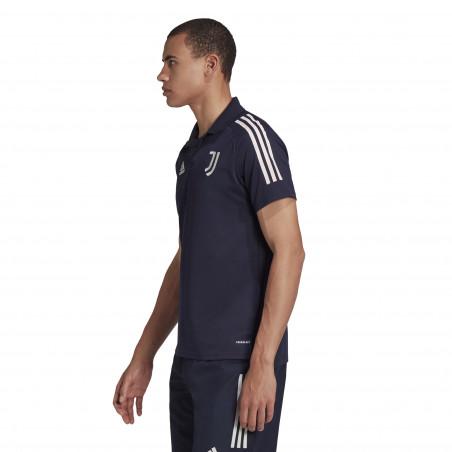 Polo Juventus bleu 2020/21