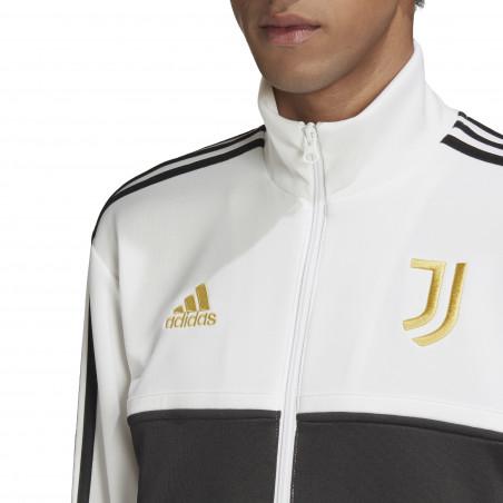 Veste survêtement Juventus 3S blanc noir 2020/21