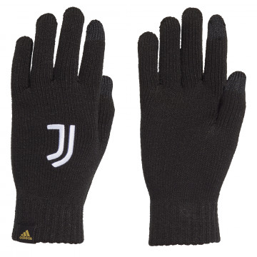 Gants joueur Juventus noir blanc 2020/21