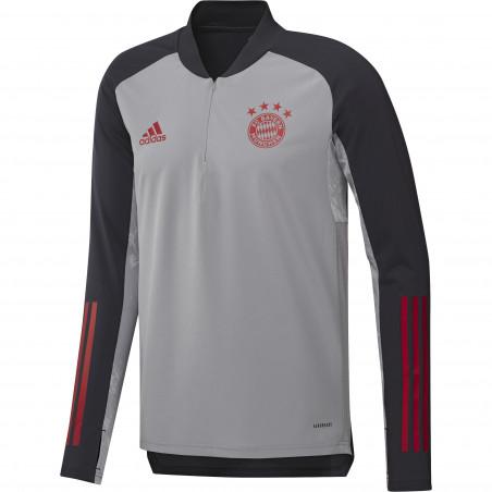 Sweat zippé junior Bayern Munich Europe gris 2020/21