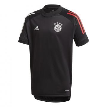 Maillot entraînement junior Bayern Munich noir 2020/21