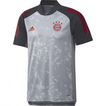 Maillot entraînement Bayern Munich gris 2020/21
