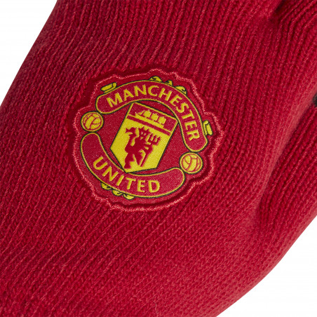 Gants joueurs Manchester United rouge 2020/21