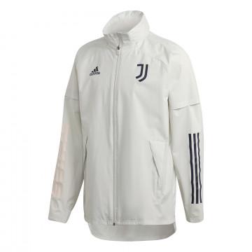Coupe vent Juventus blanc 2020/21