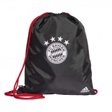 Sac de gym Bayern Munich noir rouge 2020/21