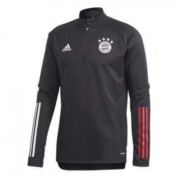 Sweat zippé Bayern Munich noir 2020/21