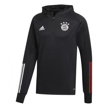 Sweat zippé à capuche Bayern Munich noir 2020/21