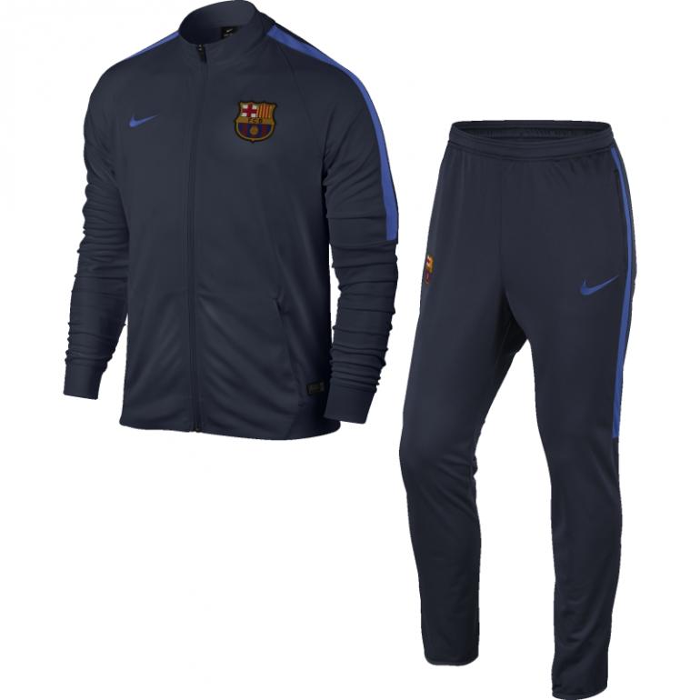 Ensemble Survêtement Junior FC Barcelone bleu 2016 - 2017