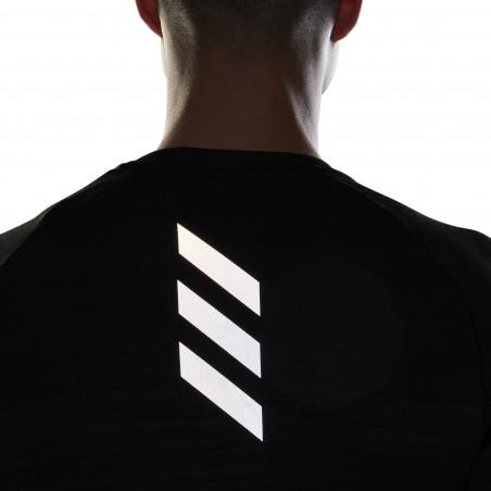 T-shirt manches longues adidas runner noir