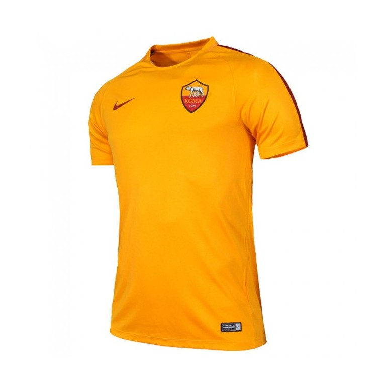 Maillot entraînement junior AS Roma orange 2016 - 2017