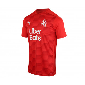 Maillot Gardien manches courtes OM rouge 2020/21