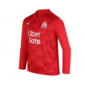Maillot Gardien junior OM rouge 2020/21