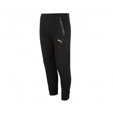 Pantalon survêtement junior OM molleton noir 2020/21