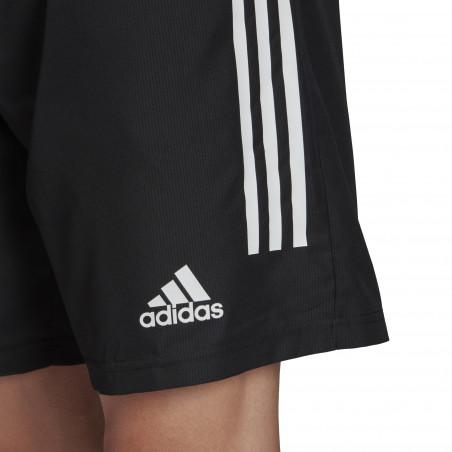 Short entraînement adidas microfibre noir
