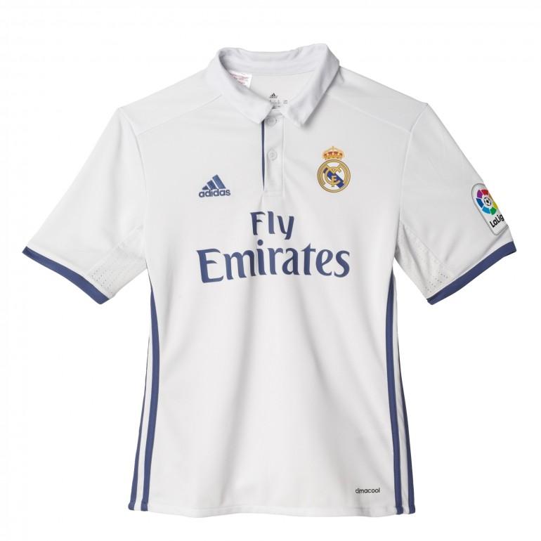 Maillot junior Karim Benzema Real Madrid domicile 2016 - 2017