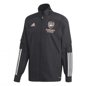Veste entraînement Arsenal Europe noir rose 202/21