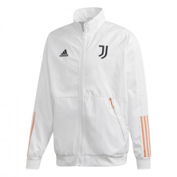 Veste survêtement Juventus Anthem blanc orange 2020/21
