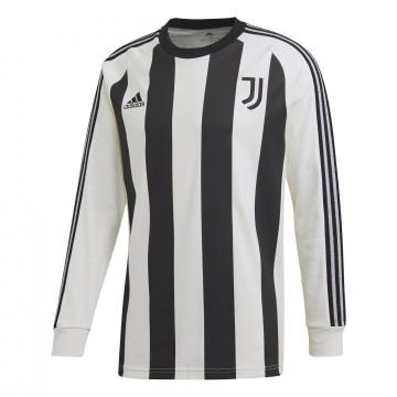 Maillot manches longues Juventus ICON noir blanc 2020/21